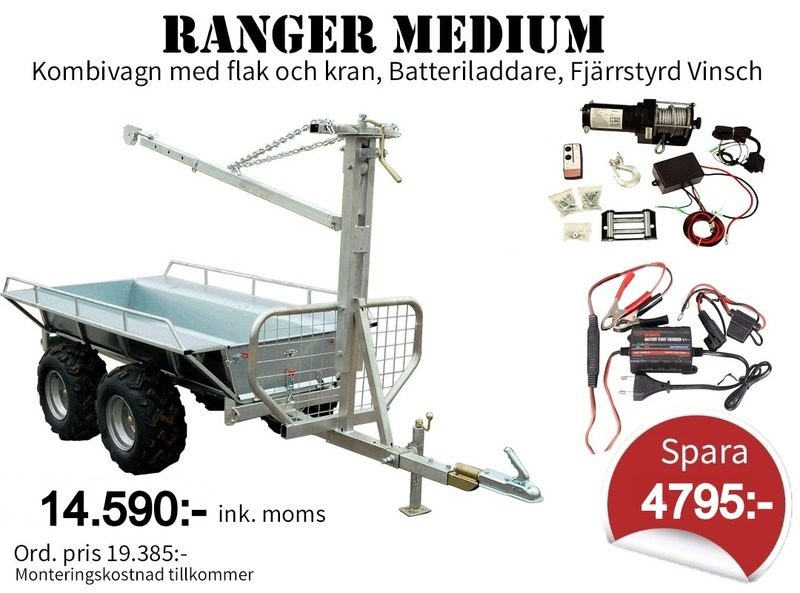 Ranger Medium *KAMPANJPAKET* ATV