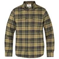 Singi Heavy Flannel Shirt M Fjällräven - Green
