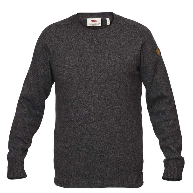 Övik Re Wool Sweater M - Dark Grey