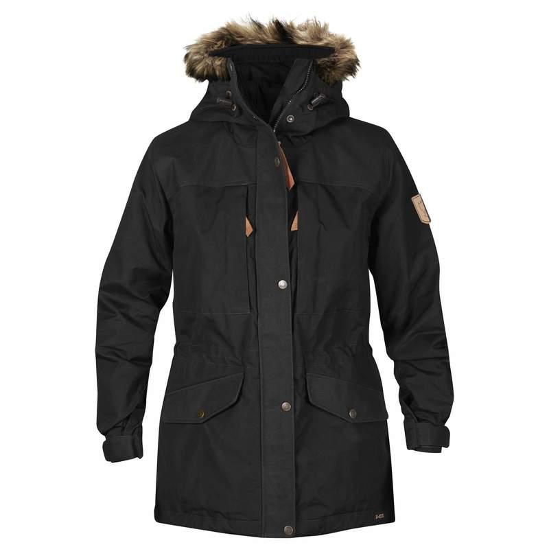 Singi Winter Jacket W Fjällräven - Black