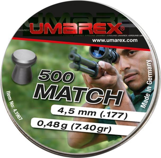 Umarex Match 4,5mm 500 st