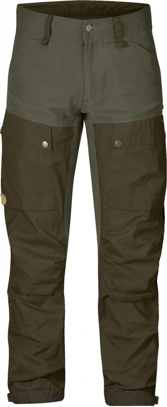 Keb Trousers Regular Byxa Fjällräven - Deep Forest/Laurel Green