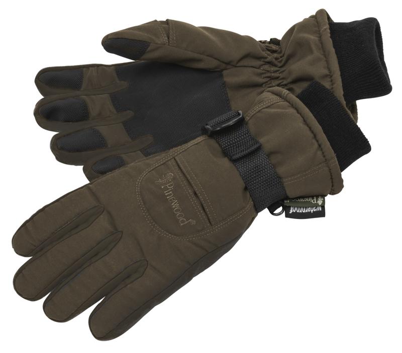 Handske Membran Barn Pinewood - Jaktbrun/Mockabrun