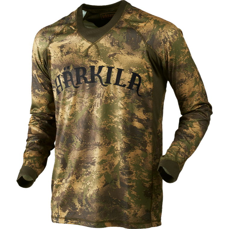 Lynx L/S T-Shirt Härkila - Axis MSP Forest Green