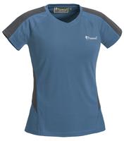 Active T-Shirt Dam Pinewood - Blå/Grå