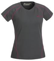 Active T-Shirt Dam Pinewood - Grå/Rosa