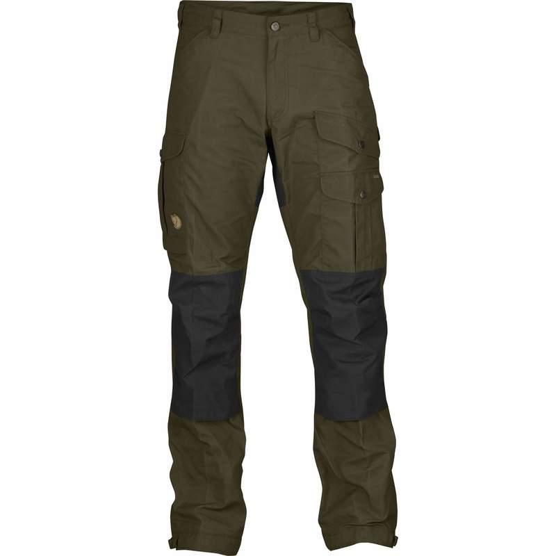 Vidda Pro Trousers Regular Byxa Fjällräven - Dark Olive *
