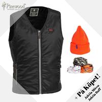 Värmeväst Pinewood - Svart/Grå