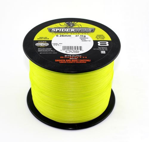 Spiderwire Stealth Smooth 0,17mm Bulk 3000m Yellow