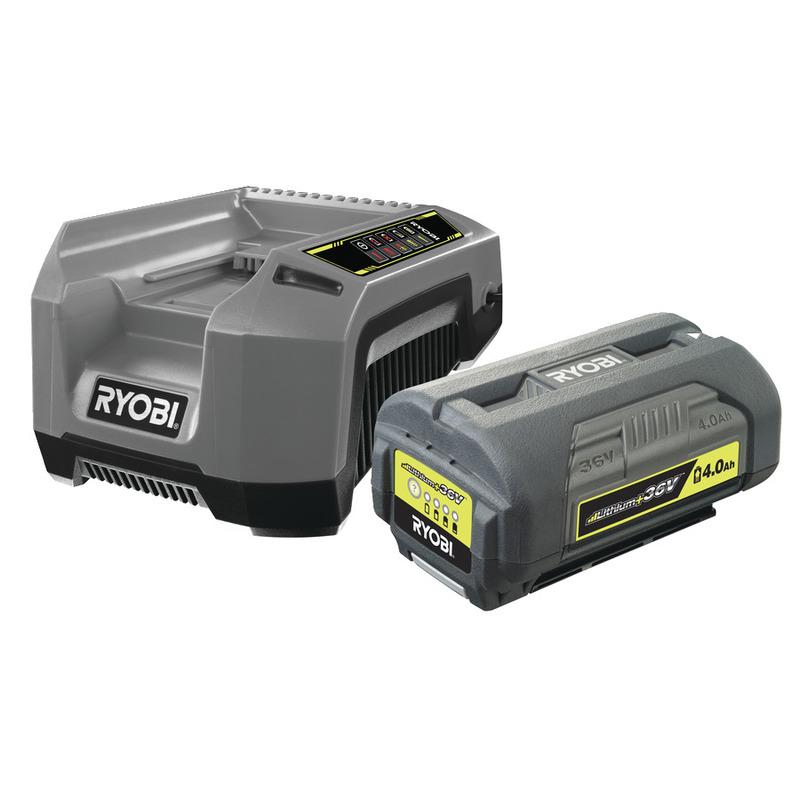 Ryobi RBPK3640D5A Batteri + Snabbladdare *
