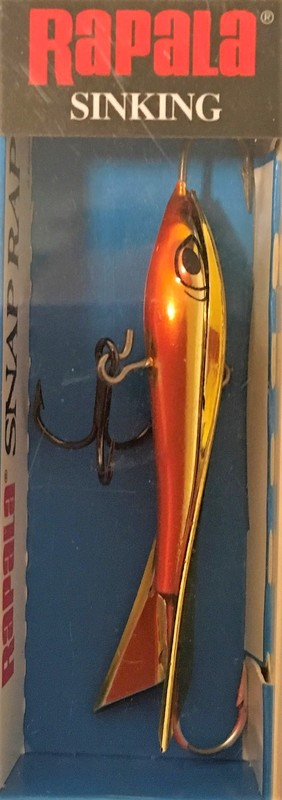 Rapala Snap Rap 6 cm Gold Orange