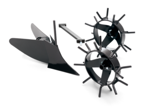 Husqvarna Plog med metallhjul för Jordfräs *