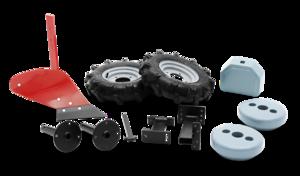 Husqvarna Plog med gummihjul och hjulvikter till Jordfräs *