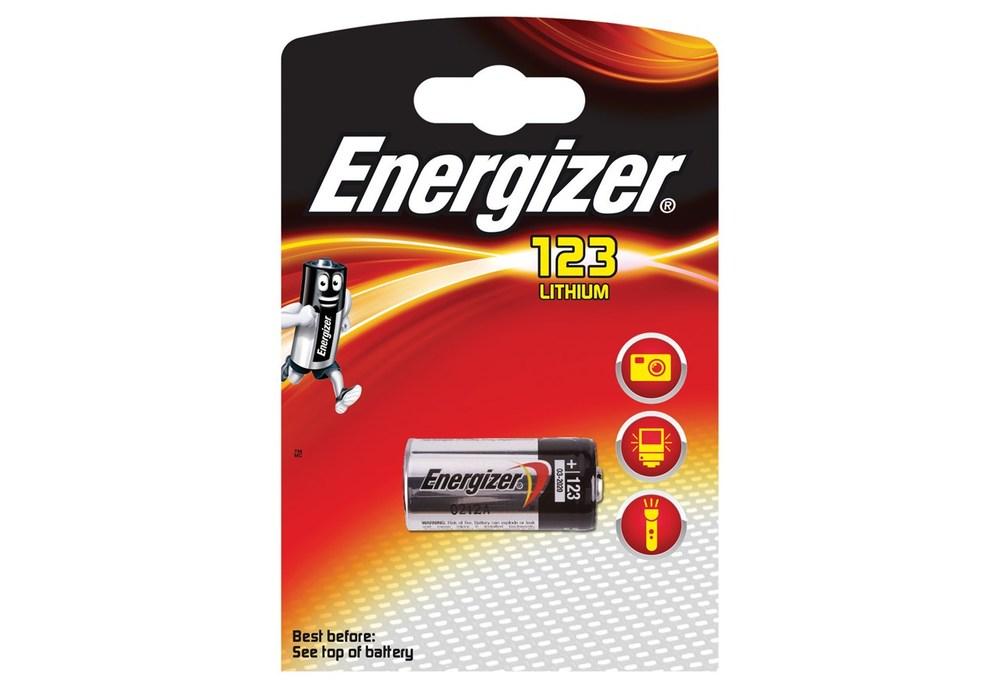 Energizer Batteri CR123 Lithium
