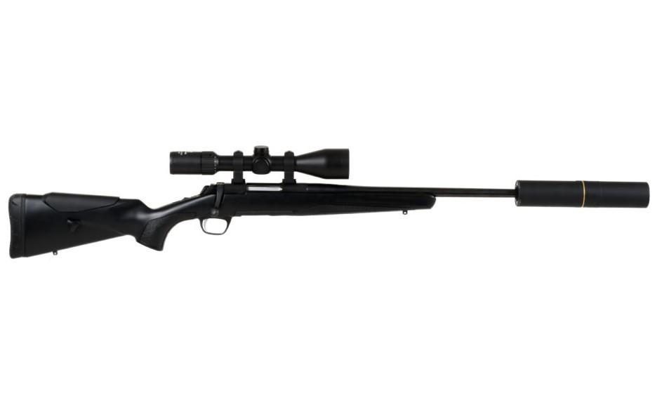 Browning X-Bolt Adj. Gängad 14×1, Flutad 308W - Vapenpaket