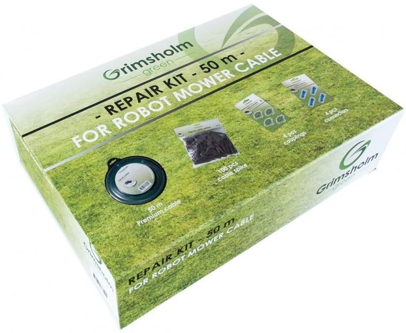 Grimsholm Reparationskit för Robotgräsklipparkabel - 50m