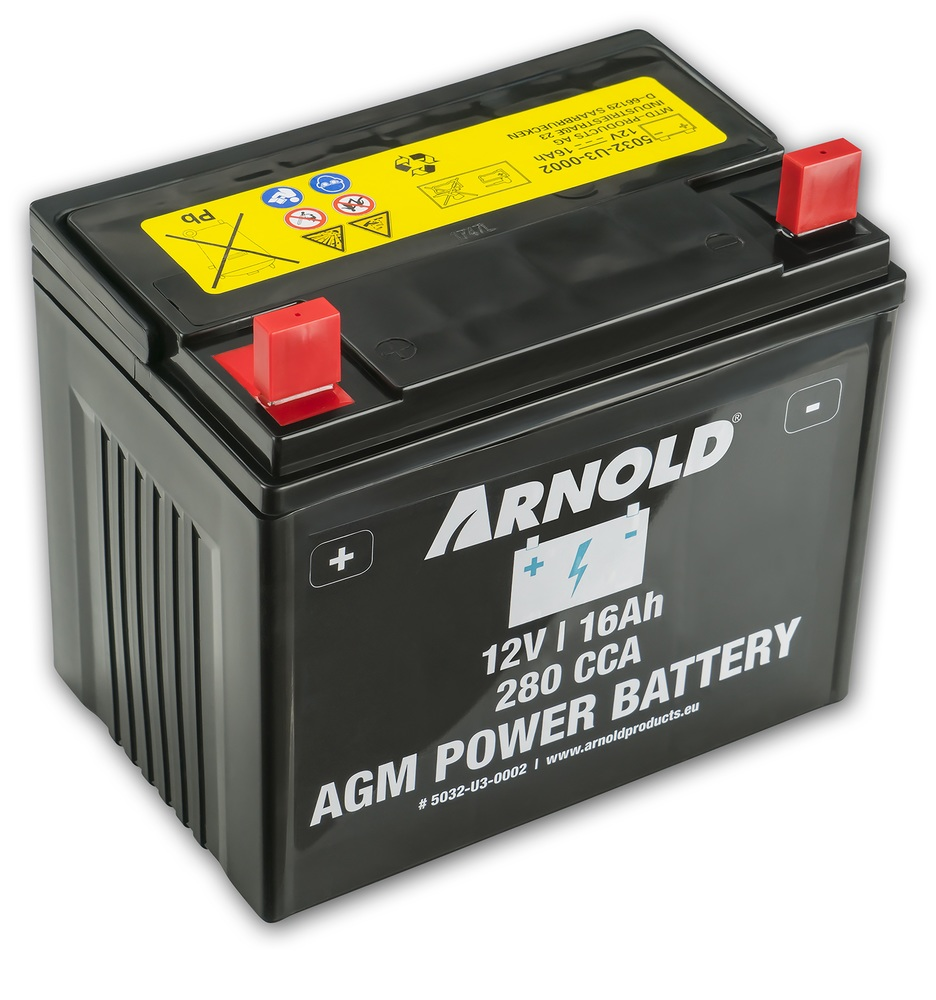 Arnold Batteri AGM 12V 16 Ah 280 CCA