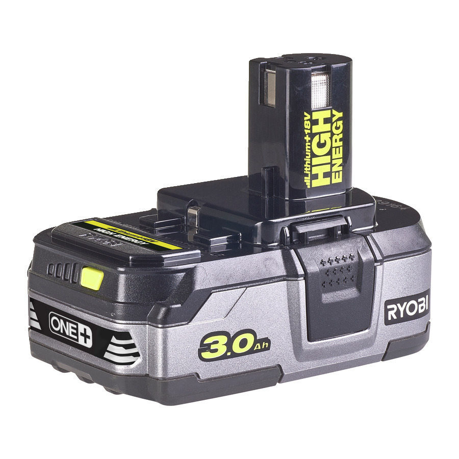 Ryobi RB18L30 3,0 AH High Energy Lithium+ Batteri 18V
