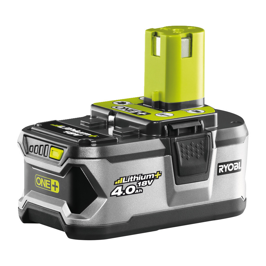 Ryobi RB18L40 4,0 AH Lithium+ Batteri 18V *