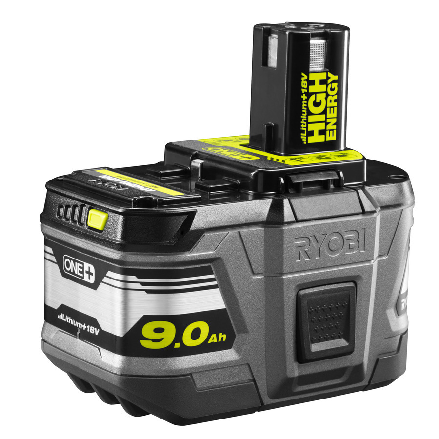 Ryobi RB18L90 9,0 AH High Energy Lithium+ Batteri 18V