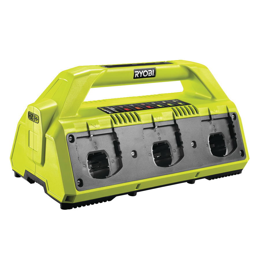 Ryobi RC18627 Laddstation 6 Portar 2,7 AMP/H 18V *