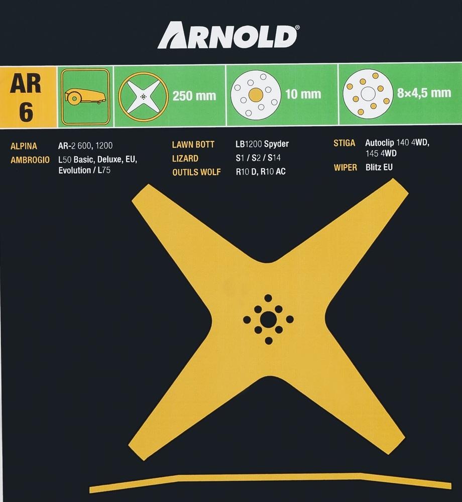 Kniv Stiga Autoclip 140/145 - Arnold
