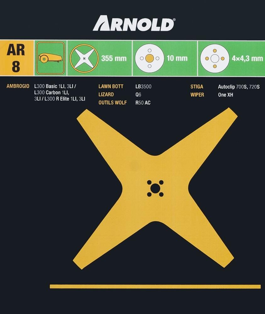 Kniv Stiga Autoclip 700S/720S - Arnold