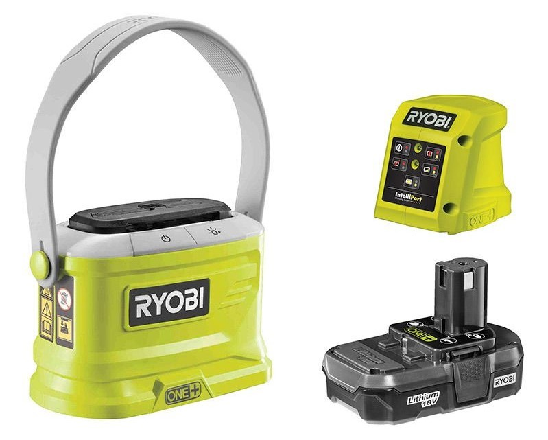Ryobi OBR1800 Myggskydd inkl. Batteri