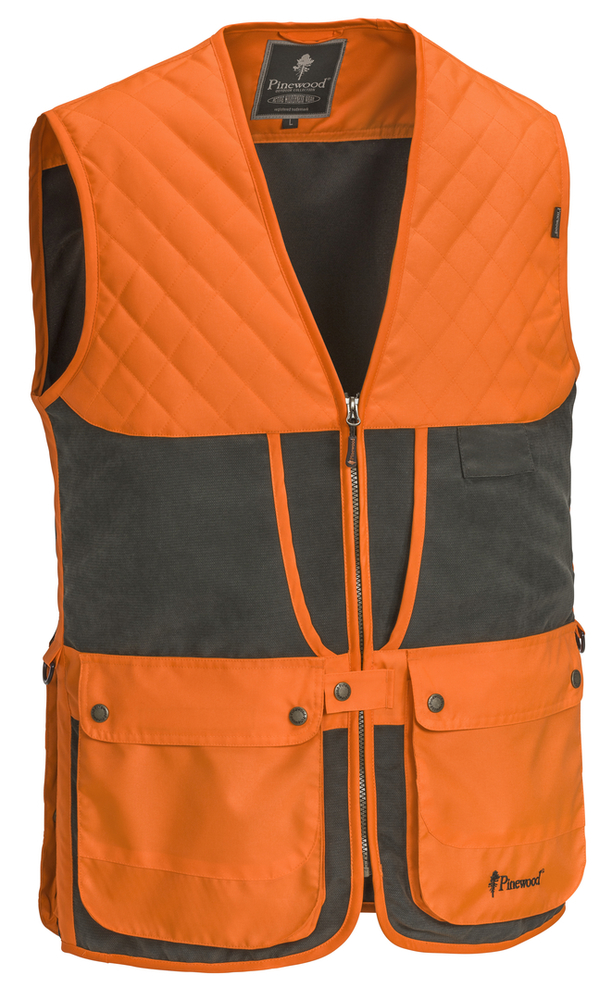 Red Deer Skytteväst Pinewood - Mossgrön/Orange *