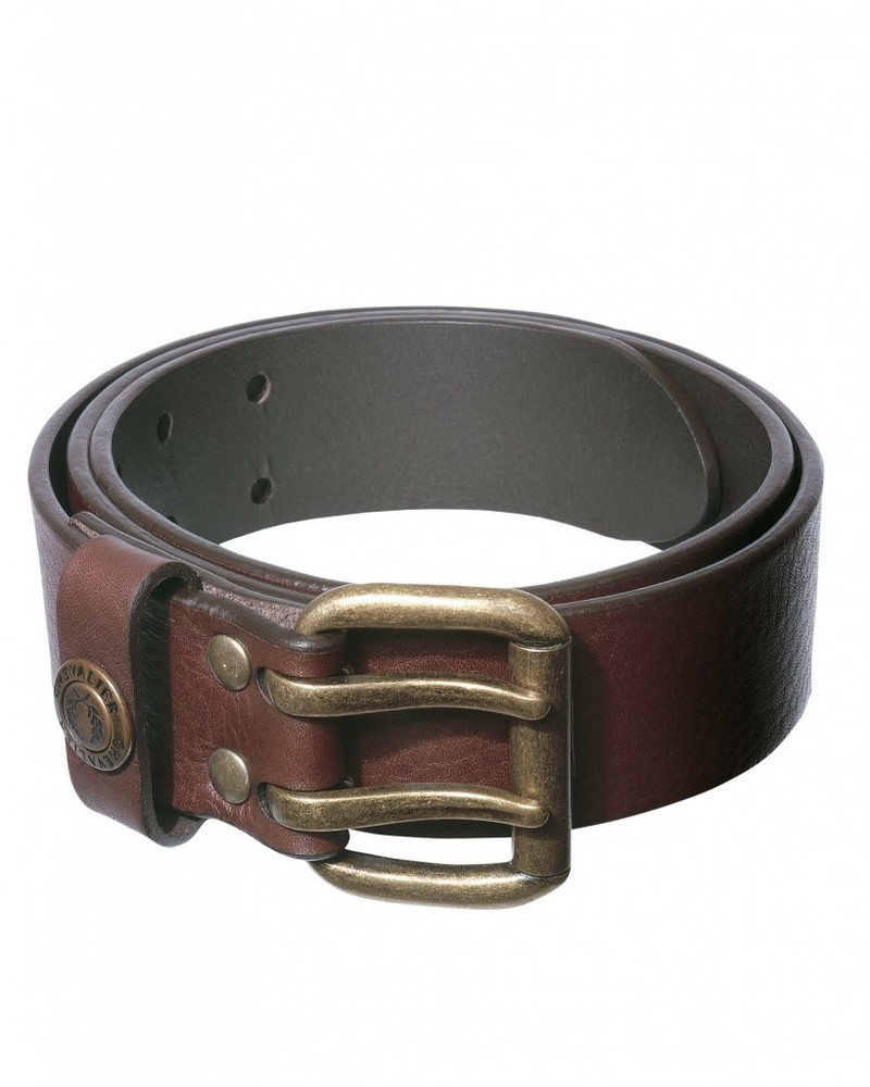 Belt Leather Chevalier - Brown *