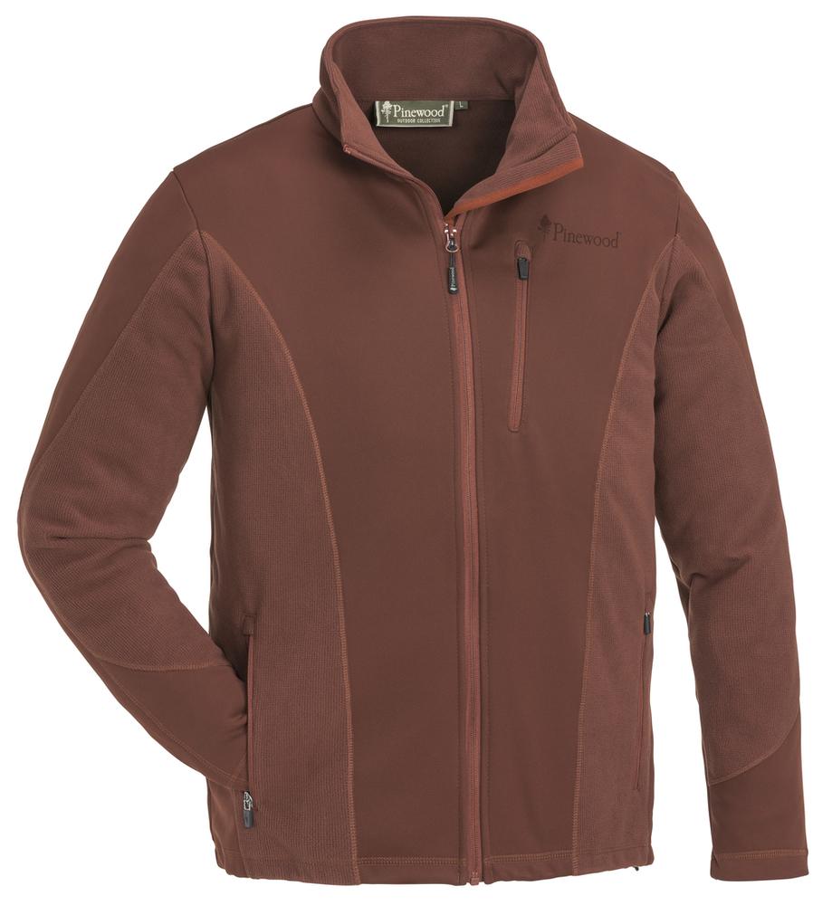 Tiveden Light Sweater Pinewood - Mörk Koppar *