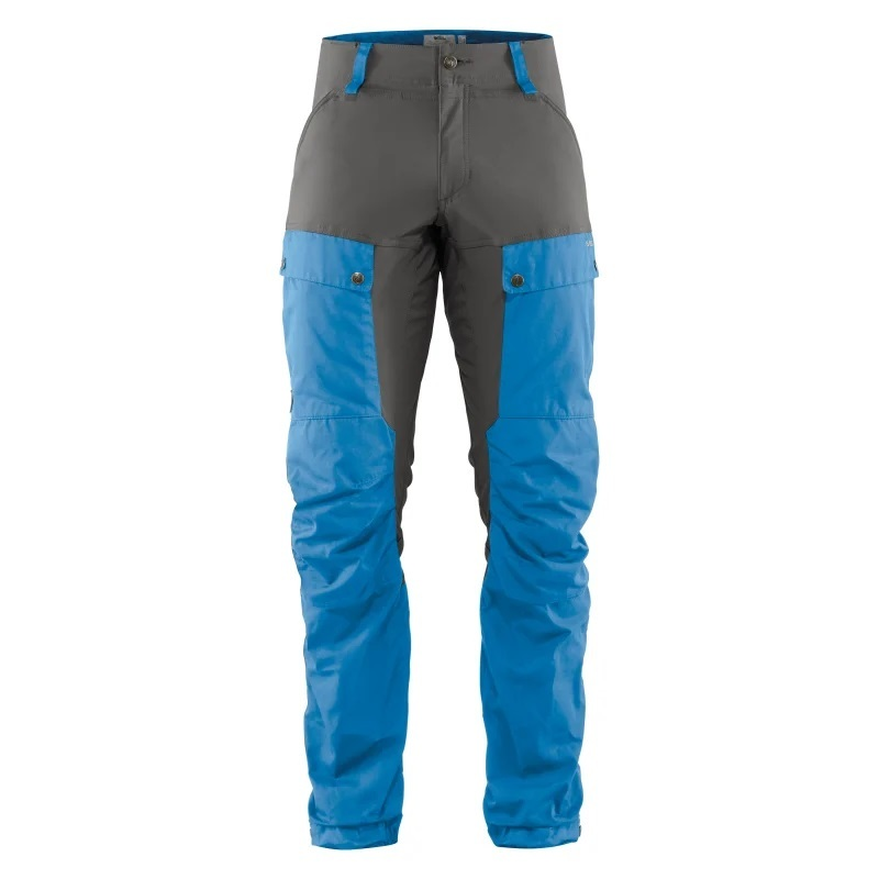 Keb Trousers Regular Byxa Fjällräven - UN Blue/Stone Grey