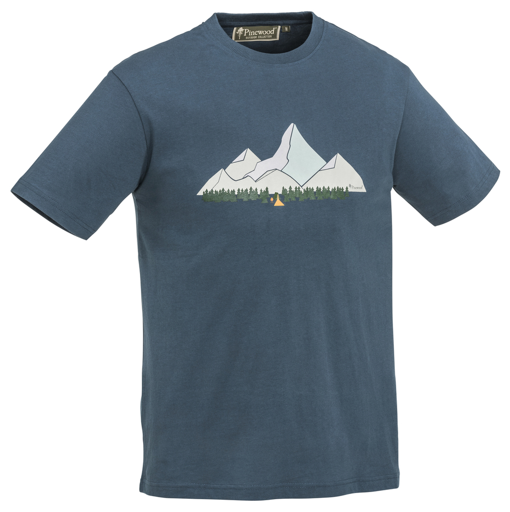 Mountain T-Shirt Pinewood - D.Dive *