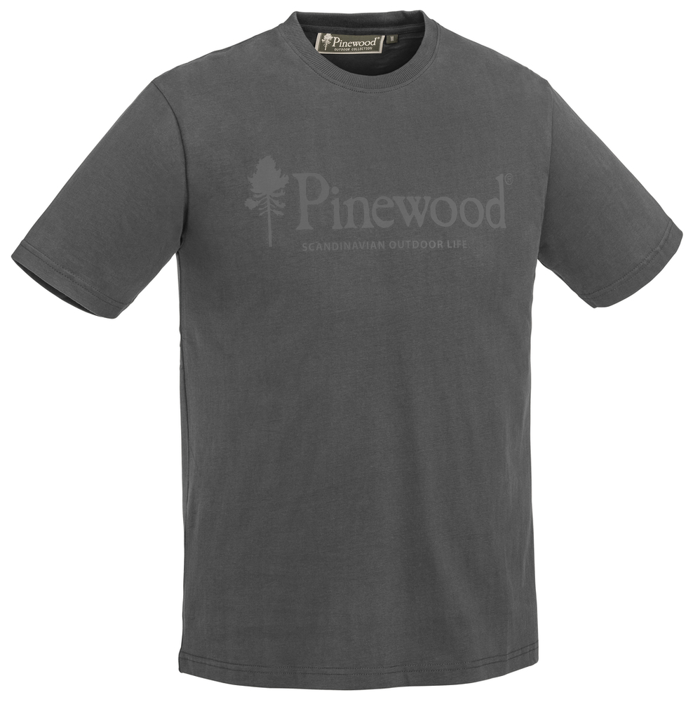 Outdoor Life T-Shirt Pinewood - Mörk Antracit *