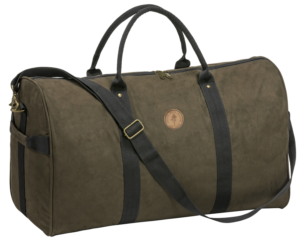 Prestwick Exclusive Weekend Bag Pinewood - Mockabrun/Svart *
