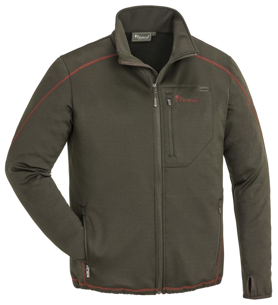 Frazer Sweater Pinewood - Mockabrun/Mörk Koppar