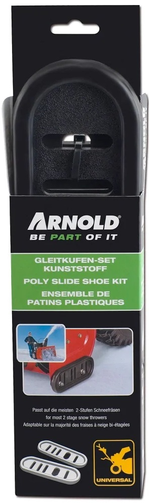 Släpskor för Snöslungor, Universal (par) - Arnold *