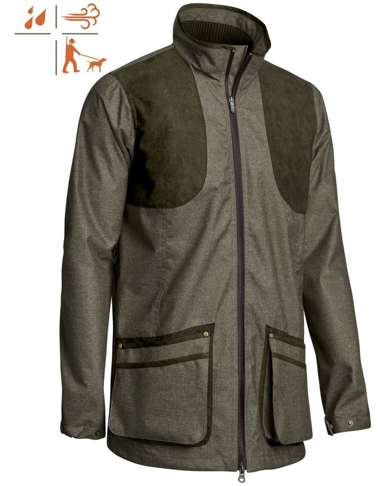 Bushland Chevalite Shooting Coat Dam Chevalier