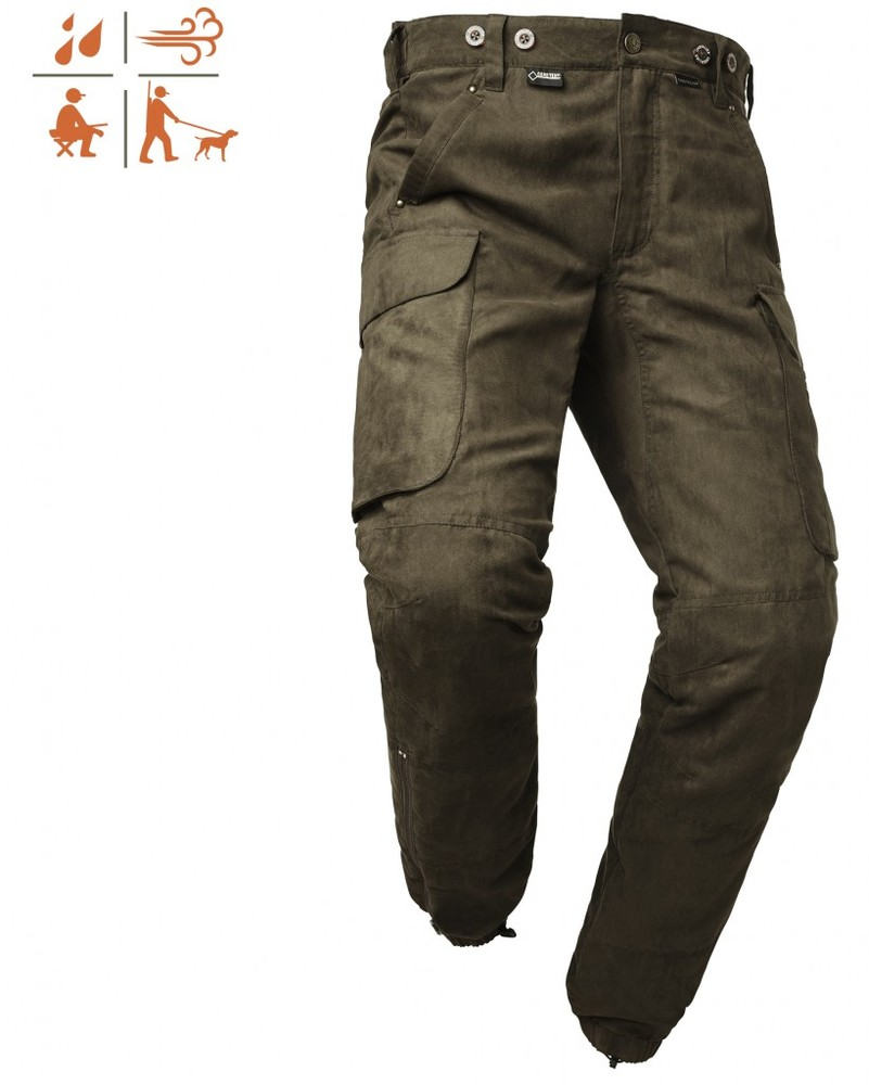 Pro Wood Action Gtx Pant Dam Chevalier - Green *