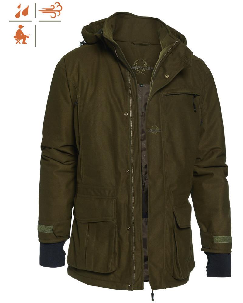 Pointer Padded Coat Chevalier - Green *