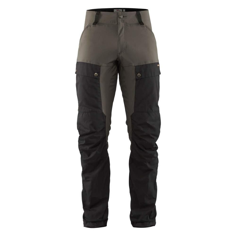 Keb Trousers Regular Byxa Fjällräven - Black/Stone Grey