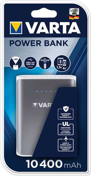 Powerbank 10400 mAH Varta