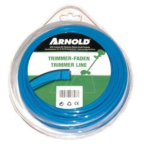 Trimmertråd Arnold Fyrkant 4.3mm 22m