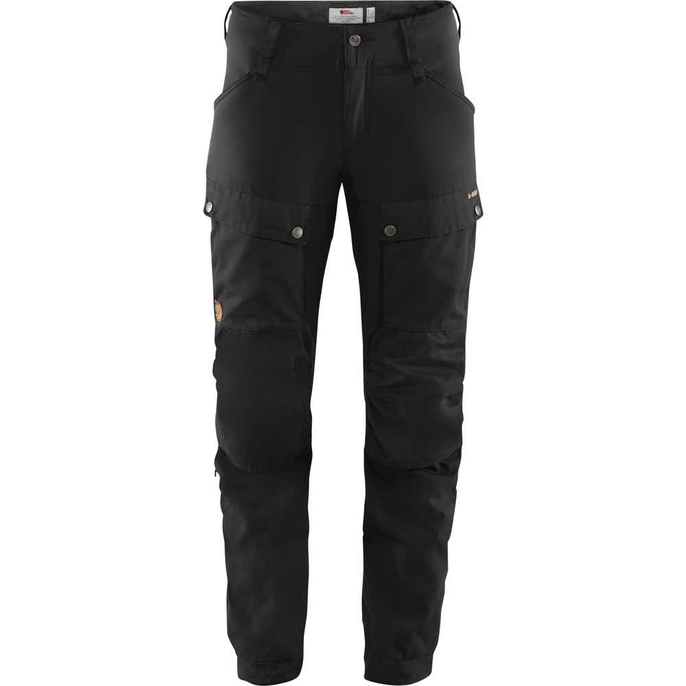 Keb Trousers W Regular Byxa Dam Fjällräven - Svart