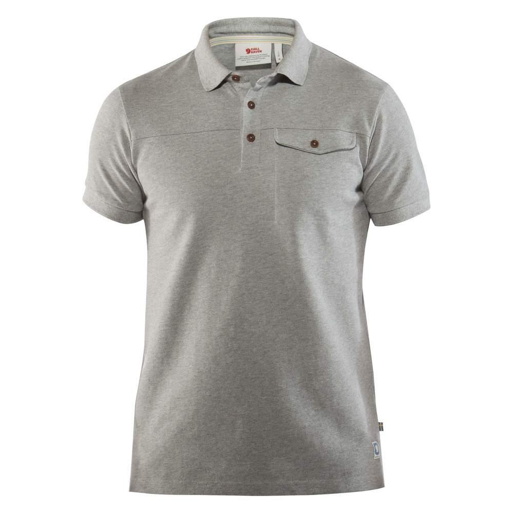Greenland Polo Shirt M Fjällräven - Grey