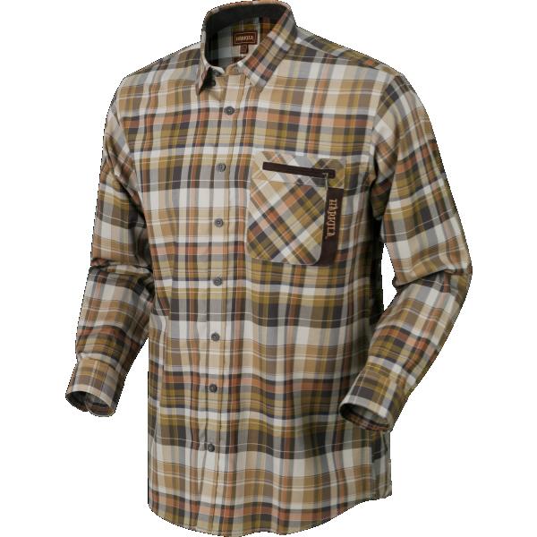 Newton LS Skjorta Härkila - Tapenade Check
