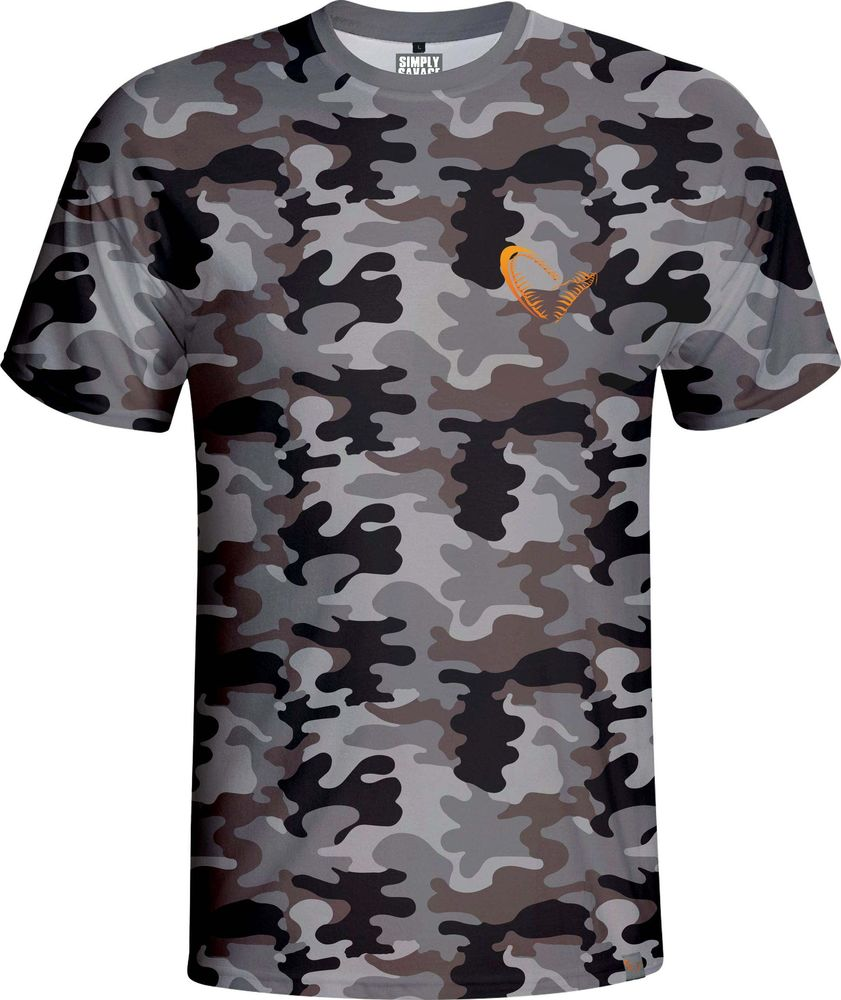 Simply Savage Camo T-shirt Savage Gear