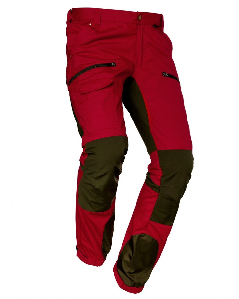 Alabama Vent Pro Pant Byxa Chevalier - Red/Tobacco *