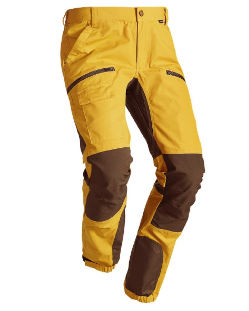 Alabama Vent Pro Pant Byxa Chevalier - Yellow/Tobacco
