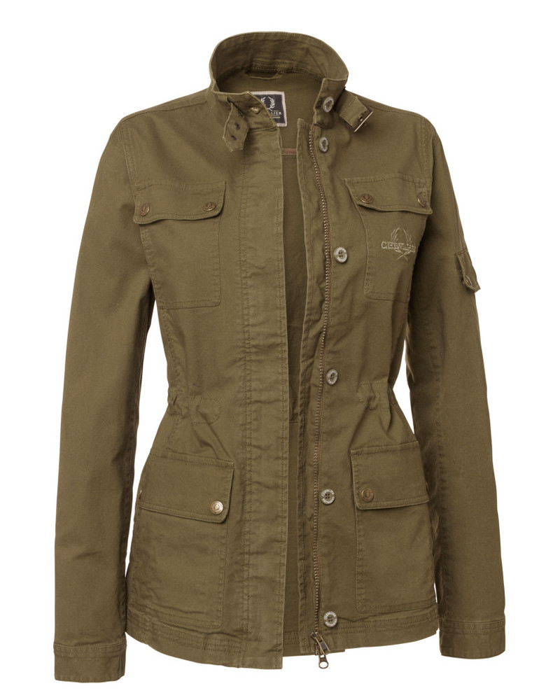 Devon Lady Coat Chevalier - Green